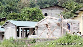 Trabajos de mejoramiento a tres escuelas en el municipio de Tesalia - Noticias