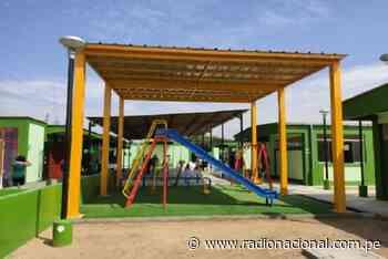 Trujillo: inauguran colegios, pistas y veredas en Paiján - Radio Nacional del Perú