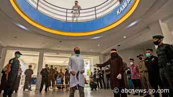 2 men caned 77 times for gay sex in Indonesia's Aceh