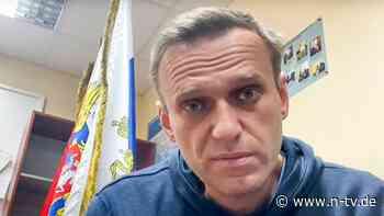 Bis Prozessbeginn in Haft: Richter lehnen Nawalny-Freilassung ab