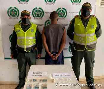 Capturan a 'Cabeza', presunto expendedor de drogas de Mahates - El Universal - Colombia