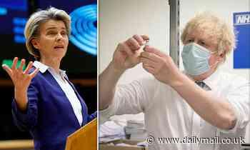 Nicola Sturgeon accused of taking EU's side in vaccine supply row