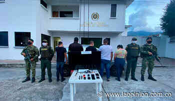 Los capturaron después de robar en Bucarasica | La Opinión - La Opinión Cúcuta