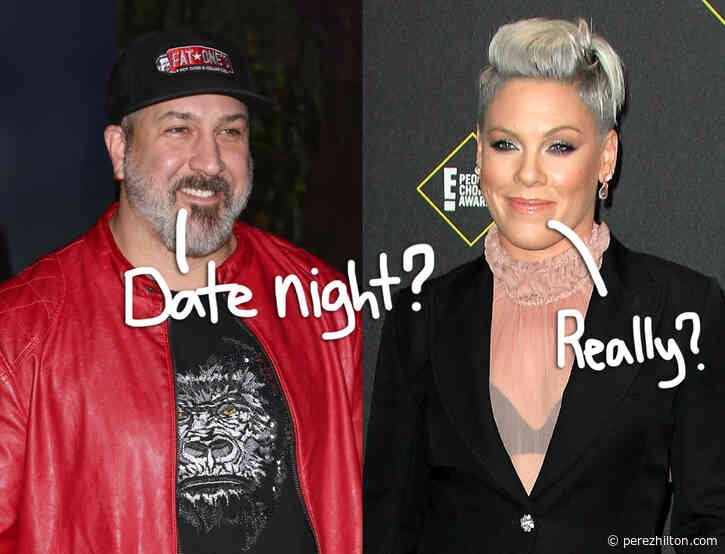 *NSYNC's Joey Fatone Reveals He DID Go Out On Dates With Pink -- But It Didn't Go Well