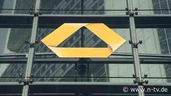 Hunderte Filialen machen dicht: Commerzbank streicht 10.000 Stellen
