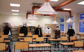 VG Landstuhl stattet ersten Klassensaal aus: Selbstgebaute Lüftungsanlage - Landstuhl - Wochenblatt-Reporter