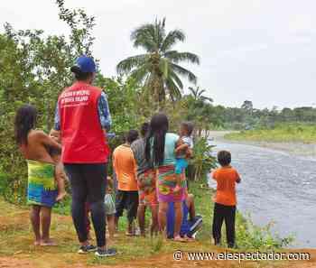 Así fue el retorno de 905 indígenas desplazados en Bahía Solano - El Espectador