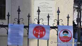 Nur mit Maske auf die Friedhöfe in Feldkirchen-Westerham - ovb-online.de