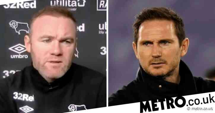 'He deserved more time' – Wayne Rooney speaks out on Chelsea's decision to sack Frank Lampard