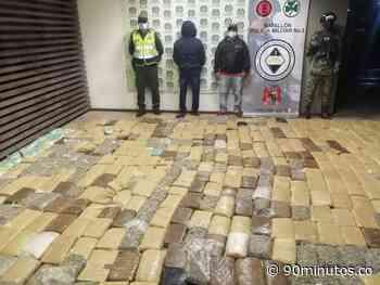 Previas : Capturado hombre que transportaba 400 kilos de marihuana en Yumbo - 90 Minutos