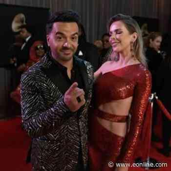 Luis Fonsi & Agueda Lopez - 2020 Grammy Awards Glambot - E! Online Brasil - E! Online
