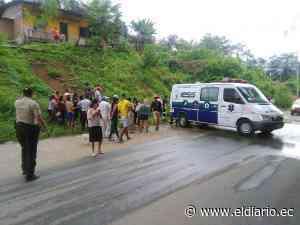 Un motociclista falleció en accidente de tránsito vía Paján- Colimes | El Diario Ecuador - El Diario Ecuador
