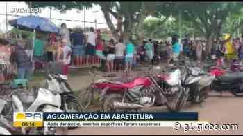 Prefeitura de Abaetetuba fecha espaços públicos e privados usados para práticas de esportes coletivos - G1