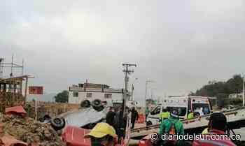 Dos personas muertas en Boyacá: Impresionante accidente en Nobsa [VIDEO+18] - Diario del Sur