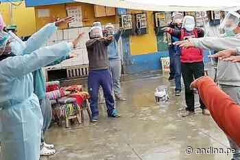 Inpe: brindan apoyo psicológico a internos de Andahuaylas frente al covid-19 - Agencia Andina