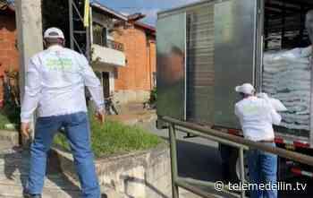 MANÁ inició la distribución de 39 mil paquetes alimentarios - Telemedellín