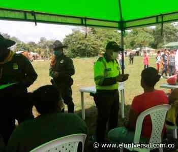 Autoridades realizan comando situacional en municipio de Majagual - El Universal - Colombia