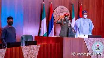 Buhari presides over 31st virtual FEC as cabinet members honour Jimeta, 2 others - Pulse Nigeria