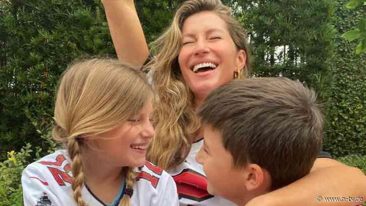 """""""Super Bowl, wir kommen!!!"""":Gisele Bündchen feiert ihren Tom Brady - n-tv NACHRICHTEN"""