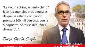 Confinamiento y asuntos pendientes, por Diego García Sayán - LaRepública.pe