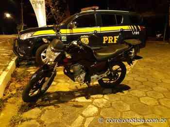 Motoqueiro é preso em Santana do Ipanema depois de ser flagrado com clone de moto roubada - Correio Notícia