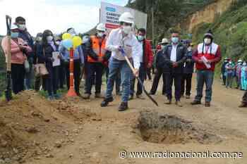 MTC inició el asfaltado de la carretera Santiago de Chuco-Mollepata en La Libertad - Radio Nacional del Perú