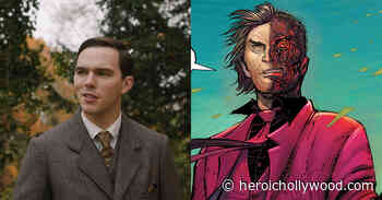 See Nicholas Hoult's Two-Face For Robert Pattinson's 'The Batman' In Pic - Heroic Hollywood