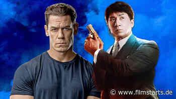 """Jackie Chan trifft auf John Cena auf erstem Bild zu """"Project X-Traction"""" – aber bekommen wir den Film jemals zu sehen? - filmstarts"""