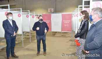 """Vaccinatiecentrum in De Qubus is klaar om 65.000 mensen te ontvangen: """"Nu nog wachten op het vaccin"""""""