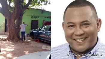 A bala asesinan a exconcejal de Chiriguaná en Valledupar - EL HERALDO