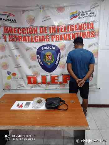 Detenido sujeto en Turmero con envoltorio de presunta droga - Diario El Siglo