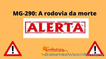 Grave acidente na MG-290 no trecho entre Borda da Mata e Pouso Alegre - Observatório de Ouro Fino