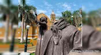 Barranco: estatua del chalán José Antonio Lavalle fue decapitada - LaRepública.pe