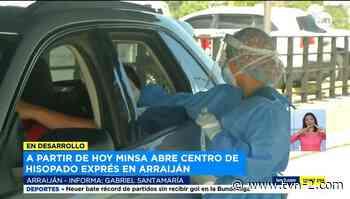Instalan nuevo centro de hisopado exprés en Arraiján - TVN Noticias