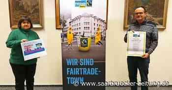 Jetzt ist es offiziell: Losheim am See wird Fairtrade-Gemeinde - Saarbrücker Zeitung