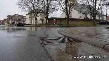 Starker Regen soll keine Schäden mehr in Heustreu anrichten können - Main-Post