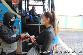 Intensifican controles de bioseguridad en el transporte en Píllaro - Diario Los Andes