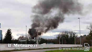 Incendio a Calcinelli in via del Progresso - Il Giornale del Metauro