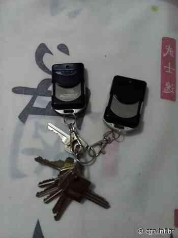 Molho de chaves é encontrado na Rua Visconde do Rio Branco - CGN