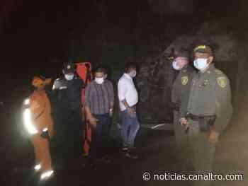 Explosión de mina en Landázuri - Canal TRO