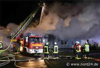 Tischlerei in Loxstedt brennt komplett nieder - Nord24