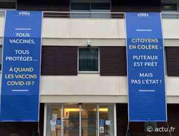 Centres de vaccination : Puteaux affiche sa colère, le Préfet voit rouge - actu.fr