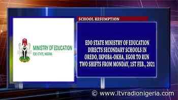 Edo Ministry of Education directs Sec. Schools in Oredo, Ikpoba-Okha, Egor to run two shifts - Independent Television/Radio - Independent Television and Radio