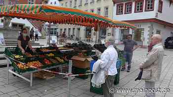 Ochsenfurt 28.06.2020 Wochenmarkt im Aufwind? So läuft es in Ochsenfurt und Eibelstadt - Main-Post