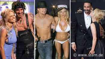 Pamela Anderson hat geheiratet: Die Männer der früheren Baywatch-Nixe | STERN.de - STERN.de