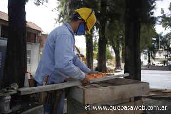 Arranca el plan de renovación de plazas en Villa Bosch, Santos Lugares y Sáenz Peña - Que Pasa Web