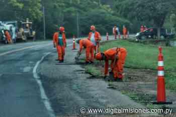Avanza la rehabilitación de la ruta PY01, tramo Quiindy-San Juan Bautista - digitalmisiones.com.py