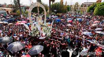 Creyentes piden a Cruz de Motupe fin de pandemia en Lambayeque | Coronavirus | Cruz de Motupe | Lambayeque | C - LaRepública.pe