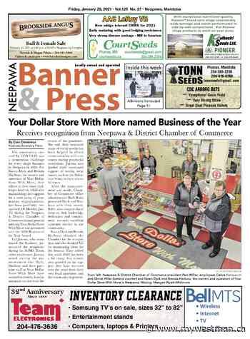 Friday, January 29, 2021 Neepawa Banner & Press - myWestman.ca