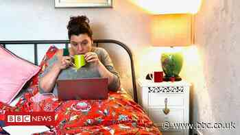 Working from bed: 'I don't even have to get dressed'
